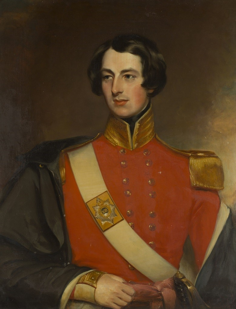 HALF-LENGTH PORTRAIT OF ROBERT GEORGE DUFF OF WELLINGTON LODGE