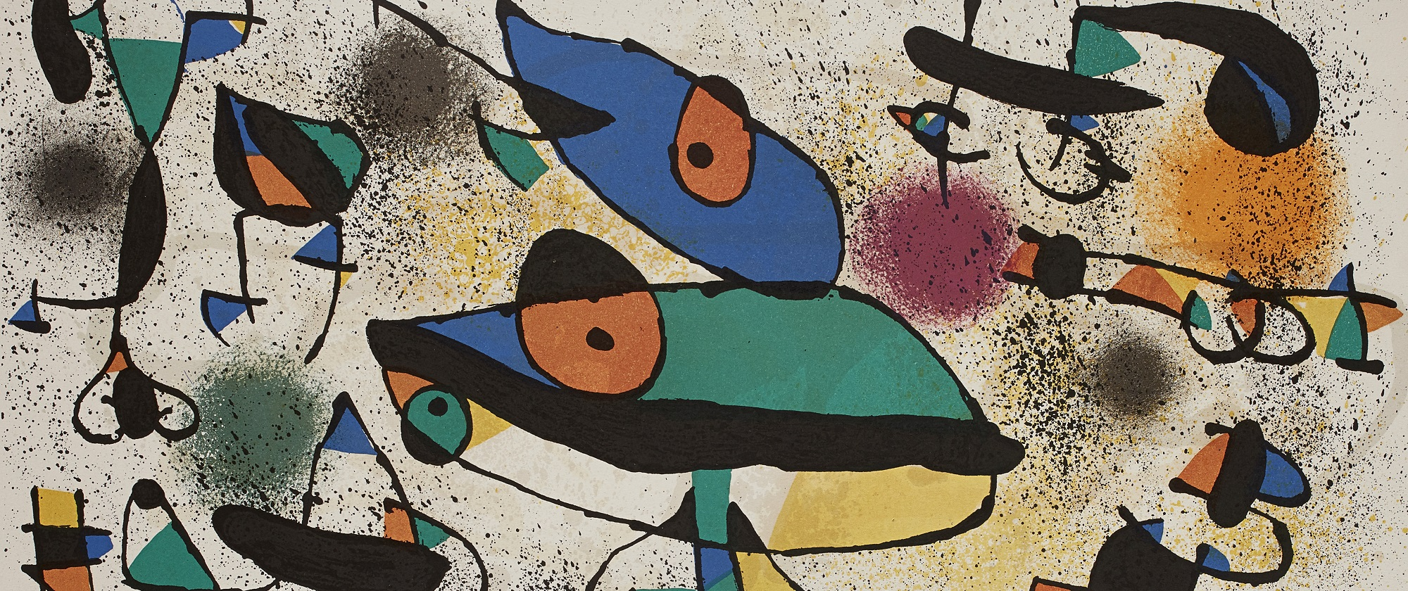 Lithographic Works of Joan Miró