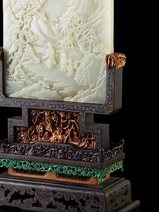 White Jade Plaque | Late Qing Dynasty