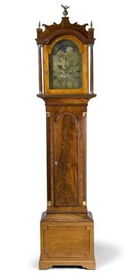 Lot 472 - A George III mahogany longcase clock, Roger...