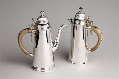 Lot 336 - A pair of Britannia standard silver...