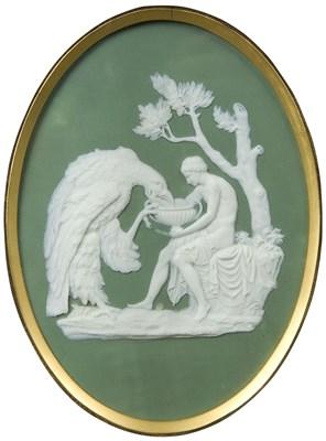 Lot 592 - Ganymede and the eagle of Jupiter: a Wedgwood...
