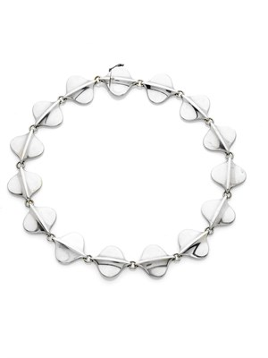 Lot 191 - GEORG JENSEN - a 1970's silver necklace