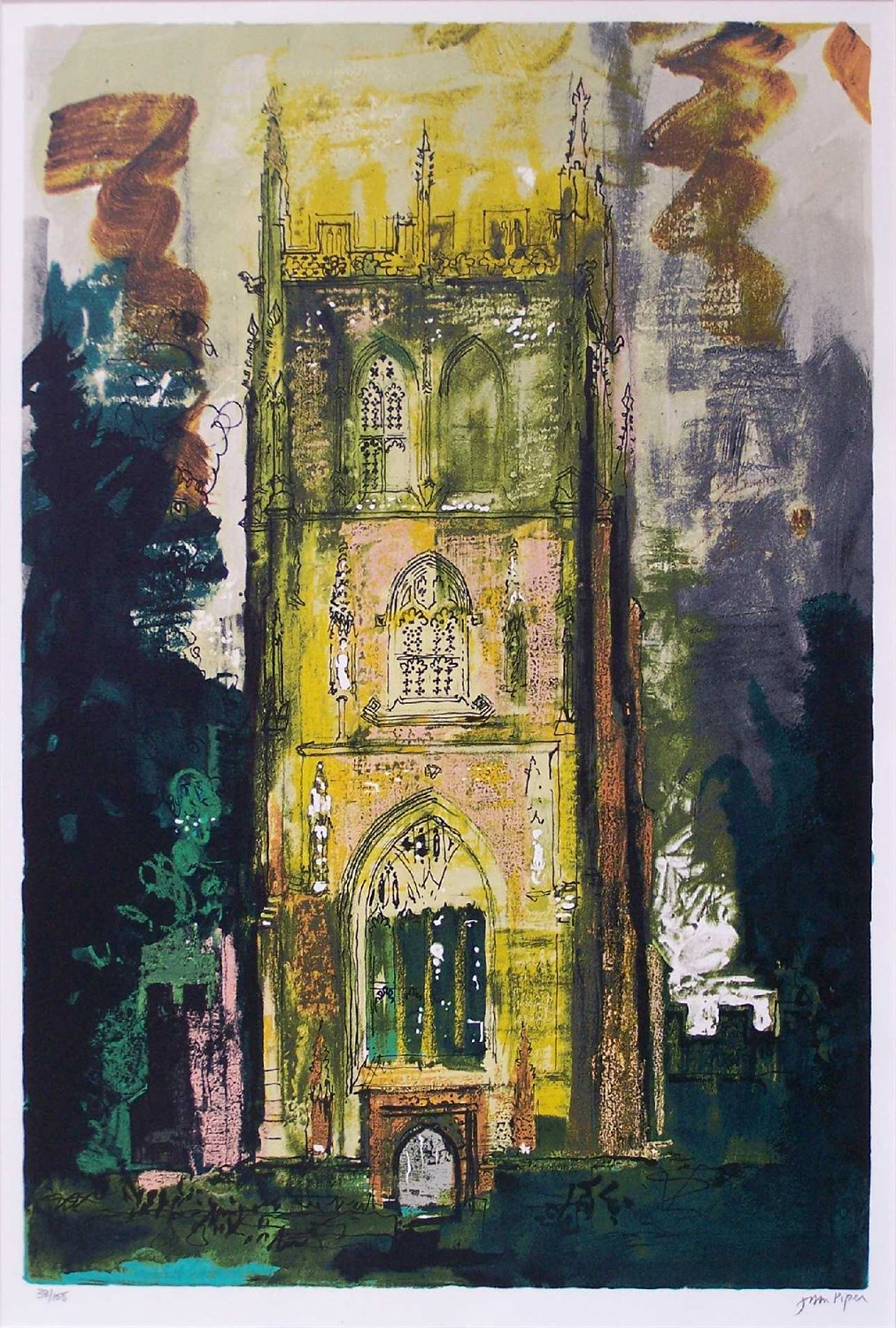 Lot 682-JOHN PIPER C. H. (BRITISH 1903-1992)