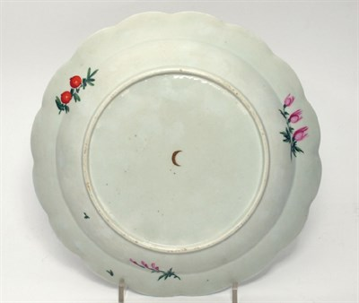 Lot 1 - WORCESTER PORCELAIN PLATE