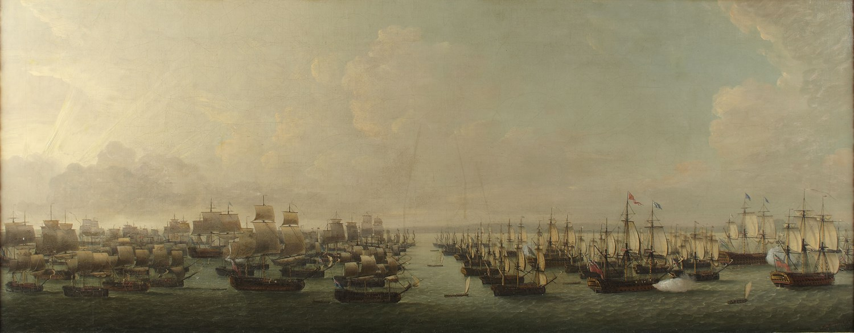 27 - DOMINIC SERRES R.A (BRITISH 1719-1793)