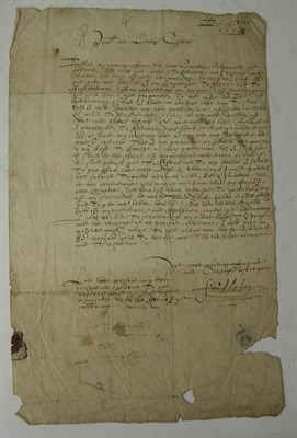 Lot 94 - Ogilvy, Patrick, 3rd Earl of Findlater