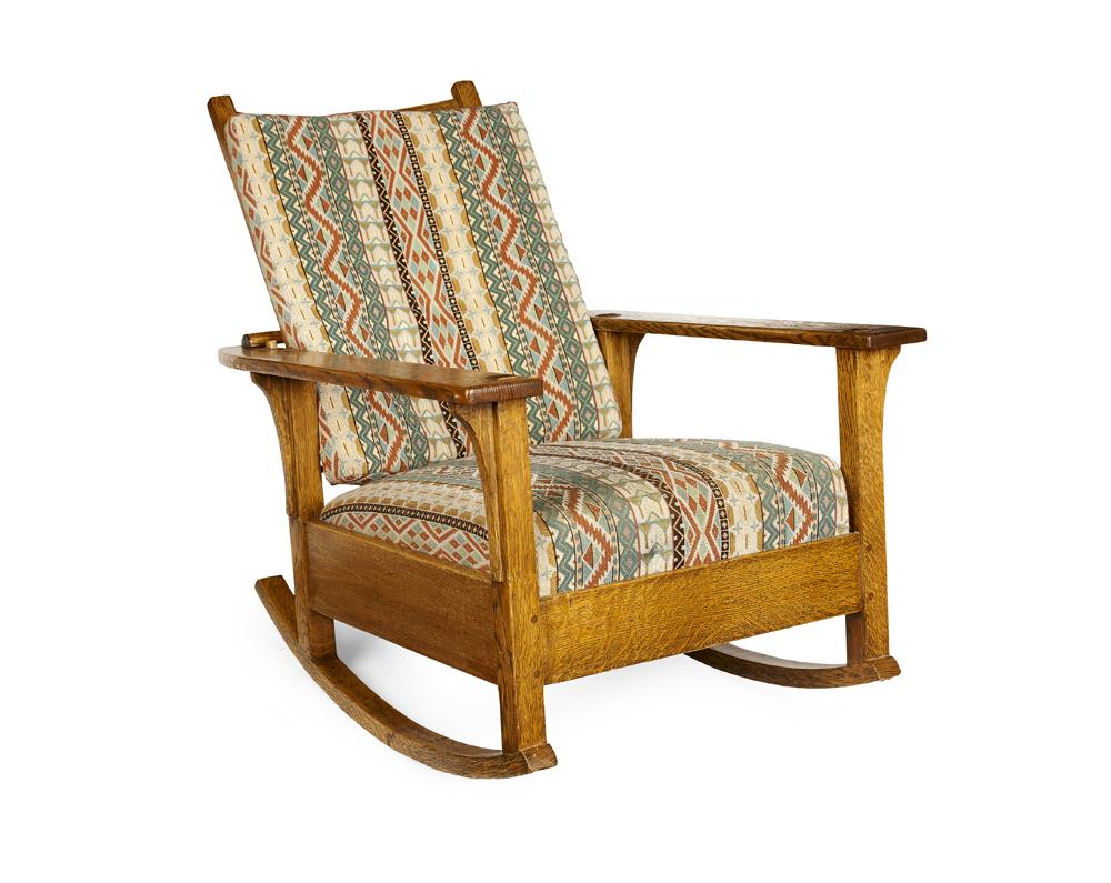 Brilliant Lot 292 L J G Stickley Not Gustav Stickley Machost Co Dining Chair Design Ideas Machostcouk