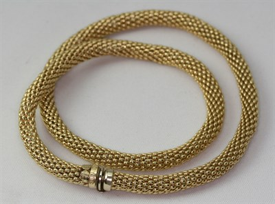 Lot 123 - A fancy link necklace