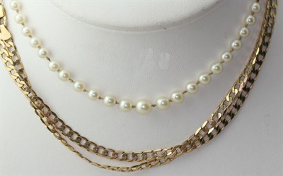 Lot 11 - A group of jewellery to include a baguette cut diamond set bracelet