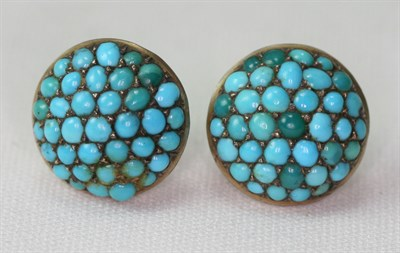 Lot 2 - A group of turquoise set jewellery