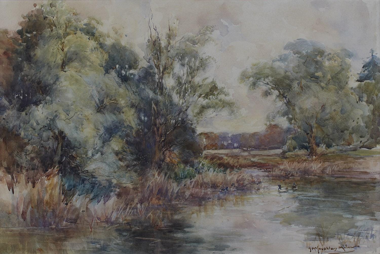 Lot 82 - JOHN MACLAUCHLAN MILNE R.S.A (SCOTTISH 1886-1957)