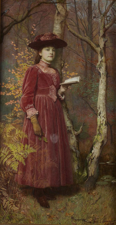 Lot 116 - FREDERICK SAMUEL BEAUMONT (BRITISH B.1861)
