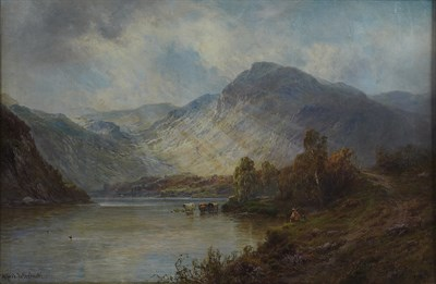 Lot 127 - ALFRED DE BREANSKI SENIOR (BRITISH 1852-1928)