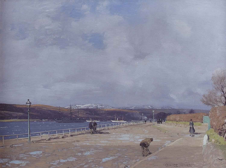 Lot 62 - GEORGE HOUSTON R.S.A., R.S.W. R.G.I (SCOTTISH 1869-1947)