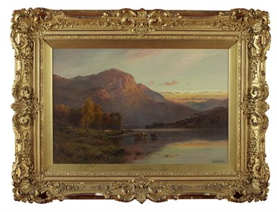 Lot 121 - ALFRED DE BREANSKI SENIOR (BRITISH 1852-1928)