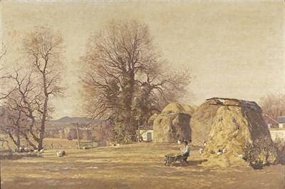 Lot 13 - GEORGE HOUSTON, AYRSHIRE R.S.W. R.I. (SCOTTISH 1869-1947)