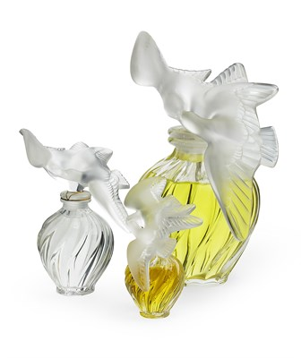 Lot 336-LALIQUE, FRANCE FOR NINA RICCI, PARIS