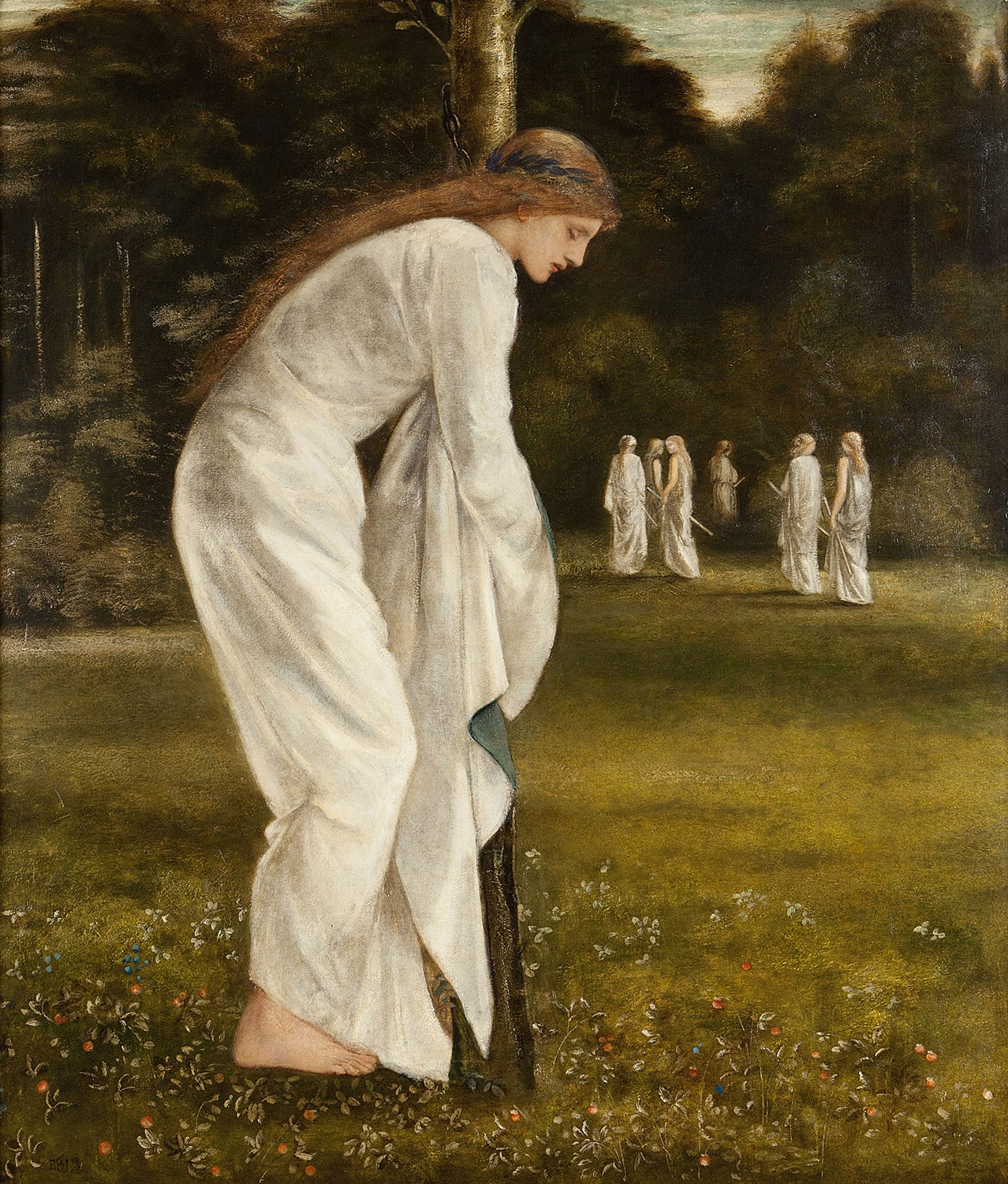65 - SIR EDWARD COLEY BURNE-JONES B.T., A.R.A. (BRITISH 1833-1898)
