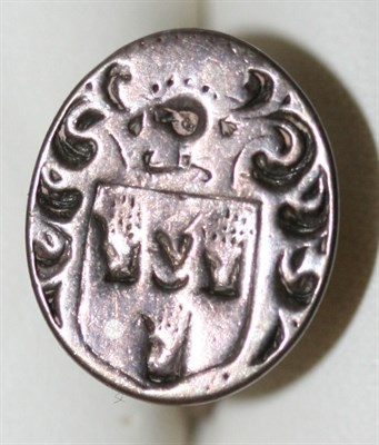 Lot 75 - A group of 18th century silver and other fob seals