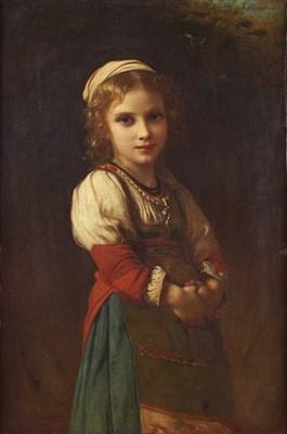 Lot 71 - CHARLES ZACHARIE LANDELLE (FRENCH 1821-1908)