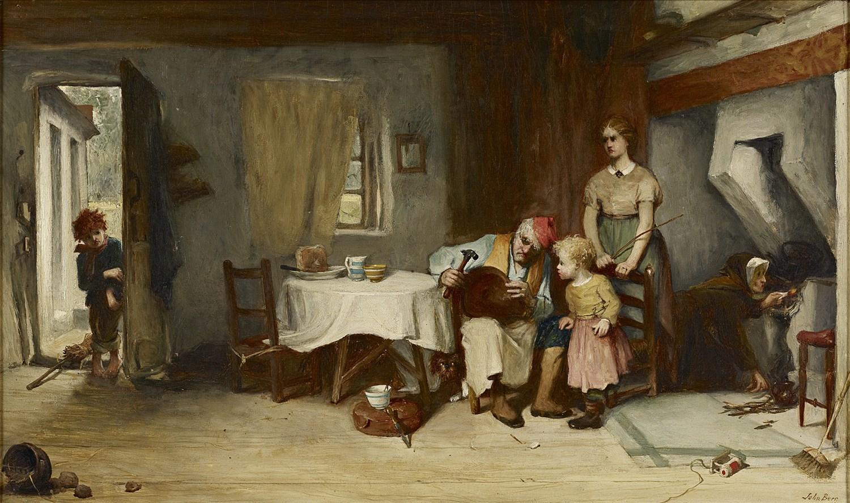 Lot 116 - JOHN BURR R.B.A., R.O.I., A.R.W.S. (SCOTTISH 1831-1893)