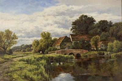 Lot 100 - HENRY  H PARKER (BRITISH 1858-1930)
