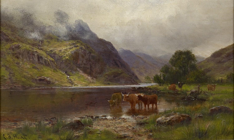 Lot 3 - LOUIS BOSWORTH HURT (BRITISH 1856-1929)