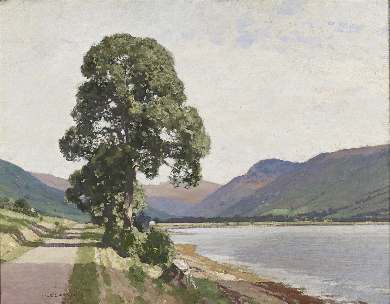 Lot 106 - GEORGE HOUSTON R.S.A., R.S.W,. R.I. (SCOTTISH 1869-1947)