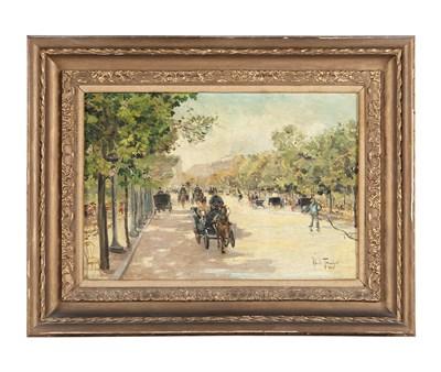 Lot 145 - LOUIS ABEL-TRUCHET (FRENCH 1857-1918)
