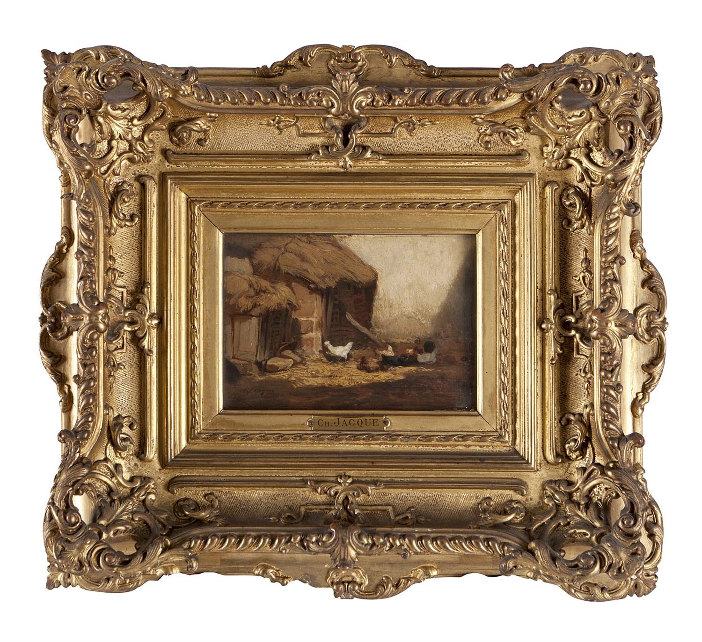 Lot 78 - CHARLES-ÉMILE JACQUE (BELGIAN 1813-1894)