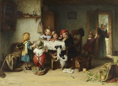 Lot 85 - ALEXANDER HOHENLOHE BURR (SCOTTISH 1836-1899)