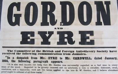 Lot 99 - Slavery Broadside - Jamaica - Eyre, Edward John