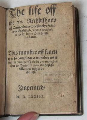 Lot 33 - [Parker, Matthew, Archbishop of Canterbury