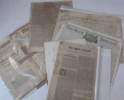 Lot 57 - Scottish Newspapers