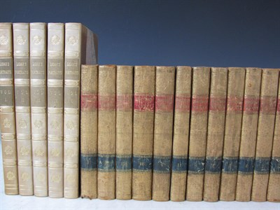 Lot 75 - Leather bindings, a large quantity, including