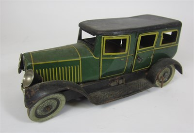 Lot 552 - METTOY TIN PLATE TOY CAR