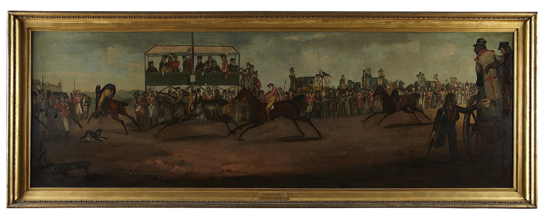 Lot 300-JAMES HOWE (SCOTTISH 1780-1836) LAST OF THE...