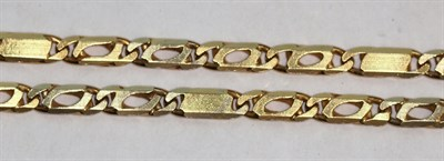 Lot 141 - A chain necklace