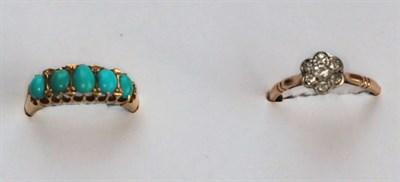 Lot 6 - A diamond set cluster ring