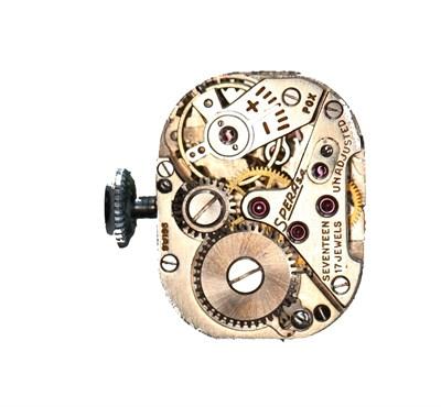 Lot 137 - An Art Deco diamond set cocktail watch