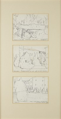 Lot 146 - RICHARD DEMARCO C.B.E., R.S.W. (SCOTTISH B.1930)