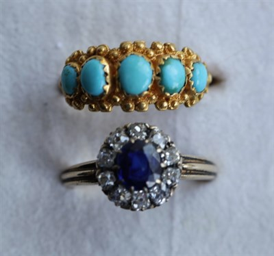 Lot 30 - Two gem set rings to include