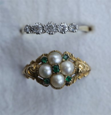 Lot 44 - A diamond ring