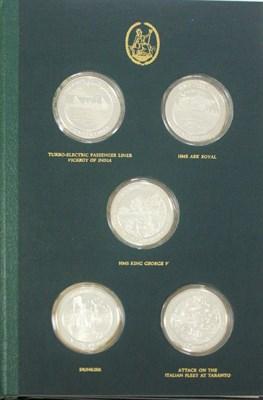 Lot 624 - Mountbatten Medallic History of Great Britain & the Sea