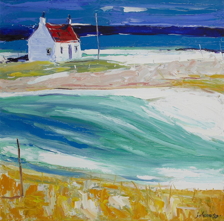 Lot 36 - JOHN LOWRIE MORRISON O.B.E (SCOTTISH B.1948)