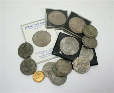 Lot 581 - A collection of coins