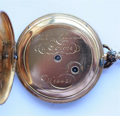 Lot 72 - A late 19th Century enamel chatelaine