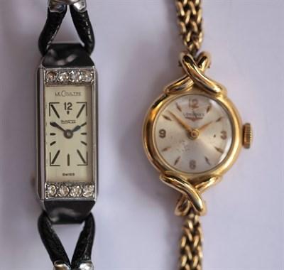 Lot 136 - LONGINES - A lady's wristwatch