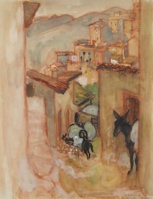 Lot 67 - ALBERTO MORROCCO O.B.E., R.S.A., R.S.W. (SCOTTISH 1917-1998)